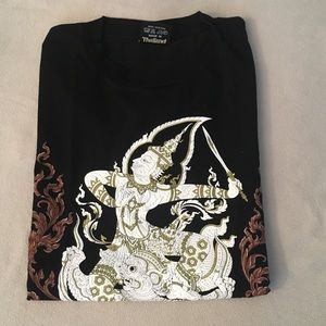 New!! Gorgeous Thai Fine arts Print!!! T-shirt